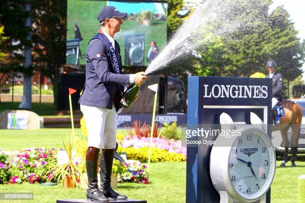 Patrice DELAVEAU during the Grand Prix Longines of the International Jumping La Baule 2018 on May 18 2018 in La Baule France