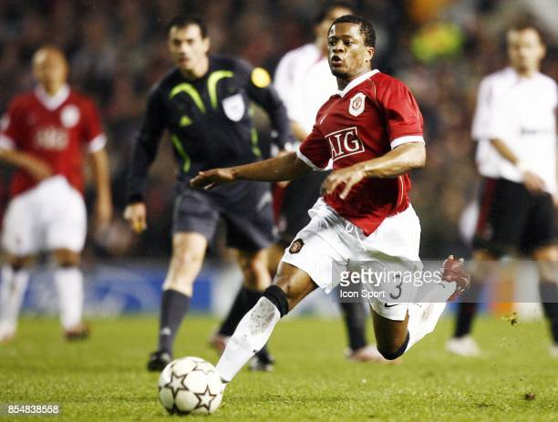 Patrice EVRA Manchester United / Milan Ac 1/2 finale Champions League