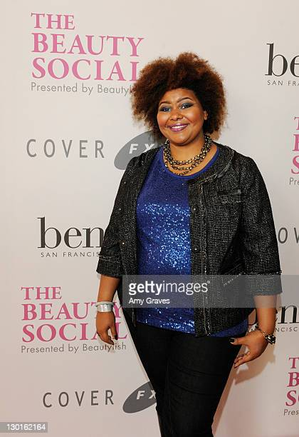Patrice Grell Yursik attends The Beauty Social Presented by Beautylish - Day2 at the Loews Santa Monica Beach Hotel on October 23, 2011 in Santa...