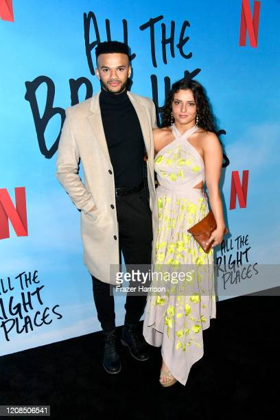 Patrice Jones and Jade Chynoweth attend a Special Screening Of Netflix's All The Bright Places at ArcLight Hollywood on February 24 2020 in Hollywood...