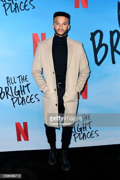 Patrice Jones attends the Special Screening of Netflix's All The Bright Places at ArcLight Hollywood on February 24 2020 in Hollywood California