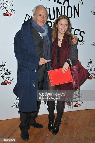 Patrice Laffont and daughter Mathilde attend the 51st Gala de L'Union Des Artistes at Cirque Alexis Gruss on November 12 2012 in Paris France