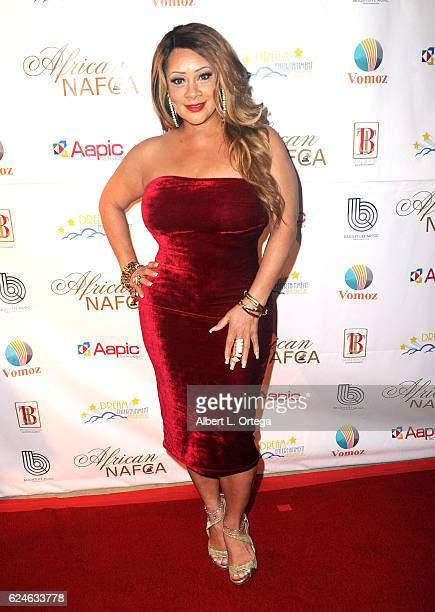 Patrice Lovely arrives for the 6th Annual NAFCA Awards held at Alex Theatre on November 19, 2016 in Glendale, California.