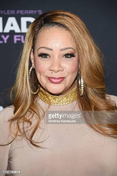 Patrice Lovely attends a screening for Tyler Perry's A Madea Family Funeral at SVA Theater on February 25 2019 in New York City