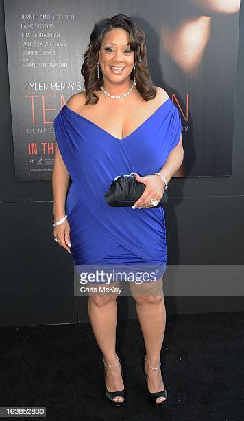 Patrice Lovely attends the Tyler Perry's Temptation Confessions Of A Marriage Counselor Atlanta Screening at AMC Parkway Pointe on March 16 2013 in...