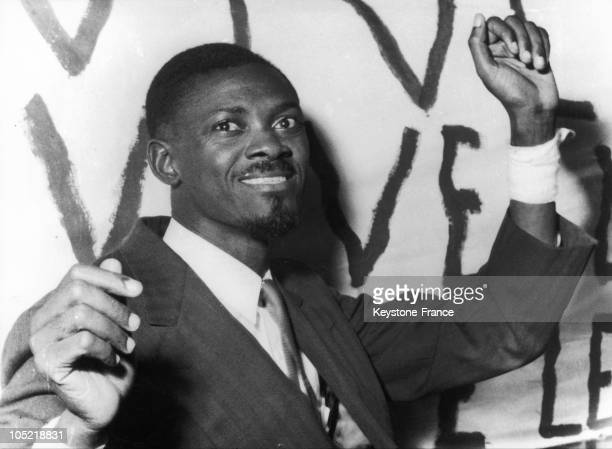 Patrice Lumumba Leader From The Belgian Congo In 1960