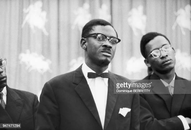 Patrice Lumumba premier Premier ministre de la République démocratique du Congo de juin à septembre 1960