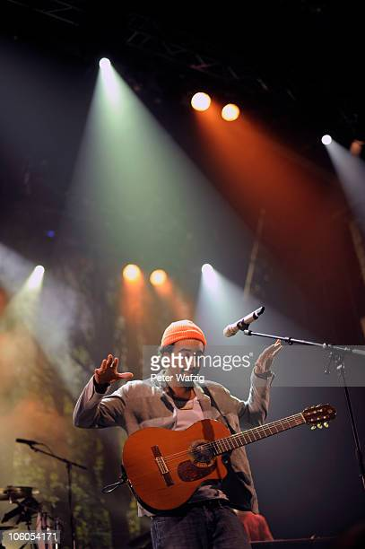 Patrice performs on stage at the EWerk on October 22 2010 in Cologne Germany