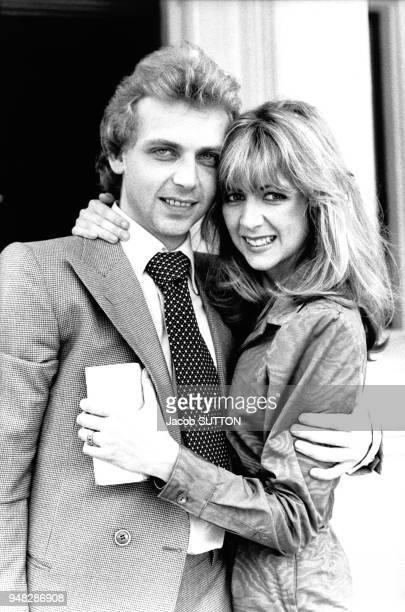 Patrice Ryecart et Marsha Fitzalan fille du Duc de Norfolk en juillet 1977 RoyaumeUni