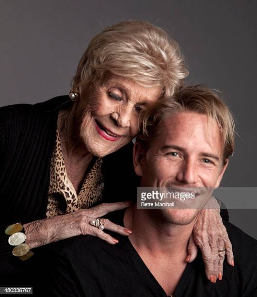 Patrice Wymore Flynn and her grandson Luke Flynn pose for a photo in January 2012 in Florida