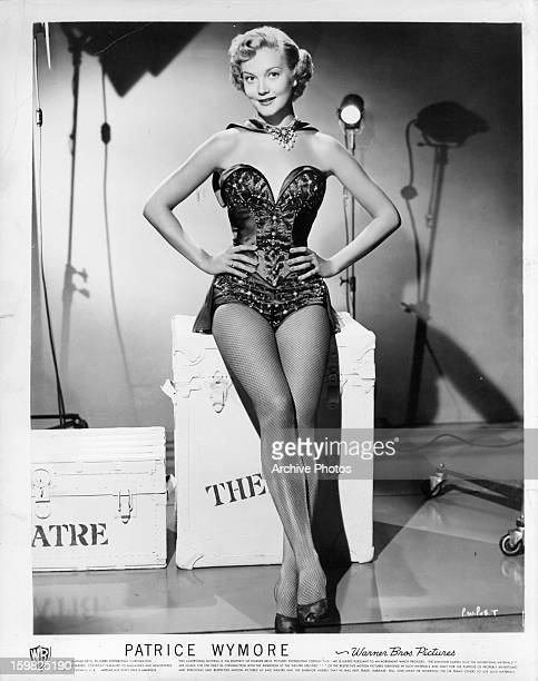 Patrice Wymore in publicity portrait for the film 'She's Back On Broadway' 1953