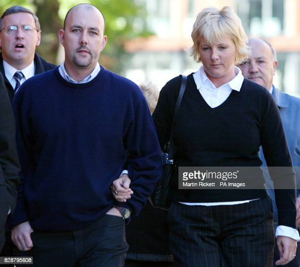 Patricia and Mark Palmer arrive at Minshull Street Crown Court Manchester Teacher Paul Ellis was jailed for manslaughter of their 10yearold son Max...