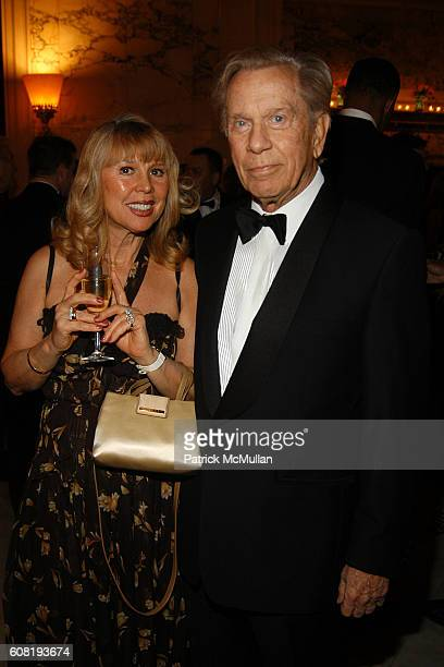 Patricia and Robert Cattani attend STEVEN ANGELA KUMBLE'S Wedding Celebration at Metropolitan Club on April 13 2007 in New York City