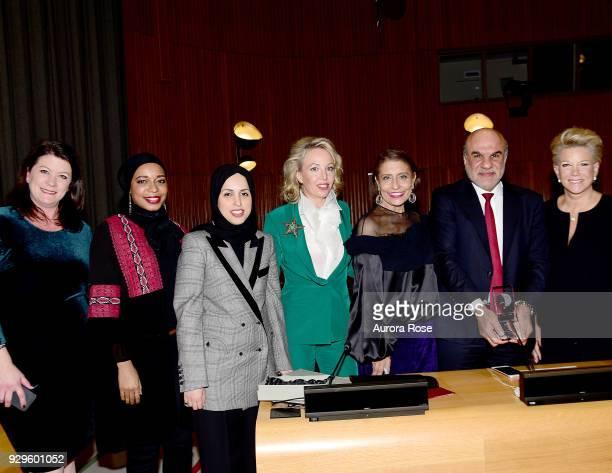 Patricia Ann Culhane Malika Marie Bilal Ambassador Sheikha Alya Ahmed bin Saif AlThani HRH Princess Camilla of Bourbon Two Sicilies Duchess of Castro...
