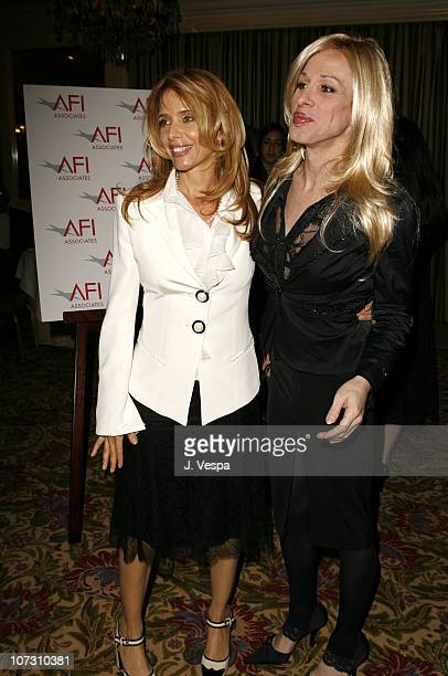 Patricia Arquette and Alexis Arquette during AFI Honors Hollywood's Arquette Family With The Sixth Annual 'Platinum Circle Awards' Green Room and...