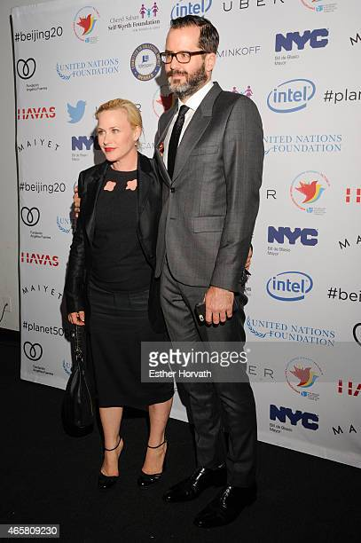 Patricia Arquette and Eric White attend Step It Up for Gender Equality Celebrates The 20th Anniversary Of The Fourth World Conference On Women In...