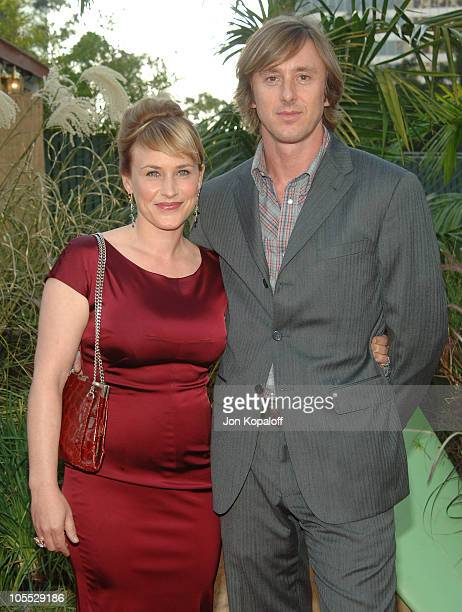 Patricia Arquette and Jake Weber during 2005 NBC Network All Star Celebration at Century Club in Century City California United States