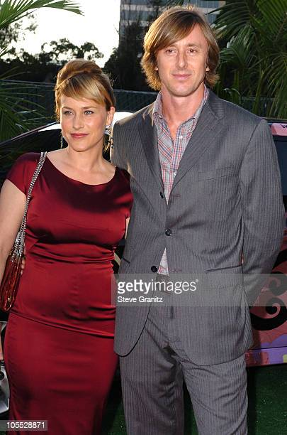 Patricia Arquette and Jake Weber during 2005 NBC Network All Star Celebration Arrivals at Century Club in Los Angeles California United States