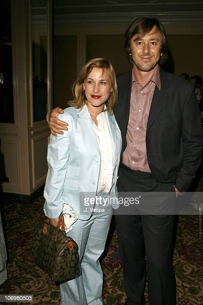 Patricia Arquette and Jake Weber during AFI Honors Hollywood's Arquette Family With The Sixth Annual Platinum Circle Awards Green Room and Show in...