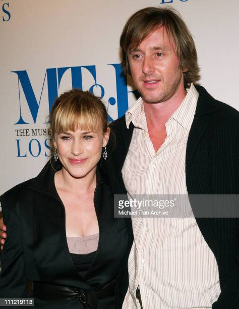Patricia Arquette and Jake Weber during The Museum of Television Radio Presents The 23rd Annual William S Paley Television Festival An Evening with...