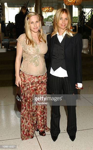 Patricia Arquette and Rosanna Arquette during 30th Annual John Anson Ford Awards Honor Patricia Arquette and MaryLouise Parker at Dorothy Chandler...