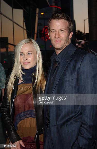 """Patricia Arquette and Tom Jane during """"The Punisher"""" Los Angeles Premiere at The Arclight Cinemas in Hollywood, California, United States."""