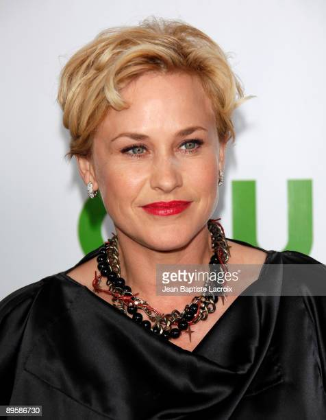 Patricia Arquette arrives at the 2009 TCA Summer Tour CBS CW and Showtime AllStar Party at the Huntington Library on August 3 2009 in Pasadena...