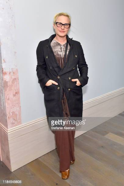 Patricia Arquette as Cuyana x RAD Host Panel and Dinner in Honor of Future Coalition at The H Club Los Angeles on October 30, 2019 in Los Angeles,...