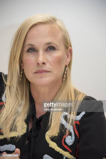 Patricia Arquette at the Escape at Dannemora Press Conference at the Four Seasons Hotel on August 7 2018 in Beverly Hills California