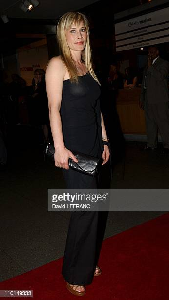 Patricia Arquette at the Museum of Modern Art for 'A Work in Progress An evening with David Russell' in New York United States on April 10 2002 A...