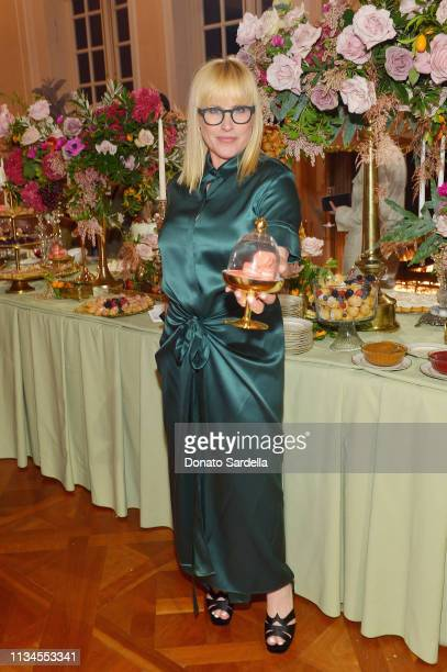 Patricia Arquette attends Hotel Vivier Los Angeles at Private Residence on April 2, 2019 in Beverly Hills, California.