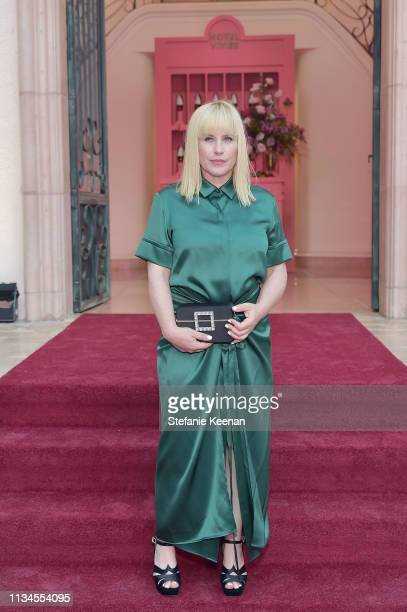 Patricia Arquette attends Hotel Vivier Los Angeles at Private Residence on April 2 2019 in Beverly Hills California