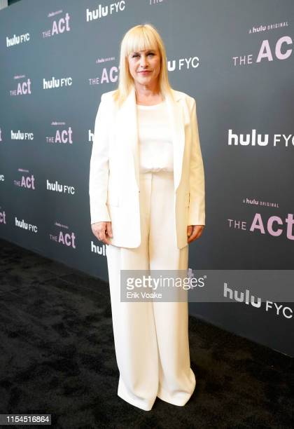 Patricia Arquette attends Hulu's The Act FYC event at Linwood Dunn Theater at the Pickford Center for Motion Study on June 07 2019 in Hollywood...