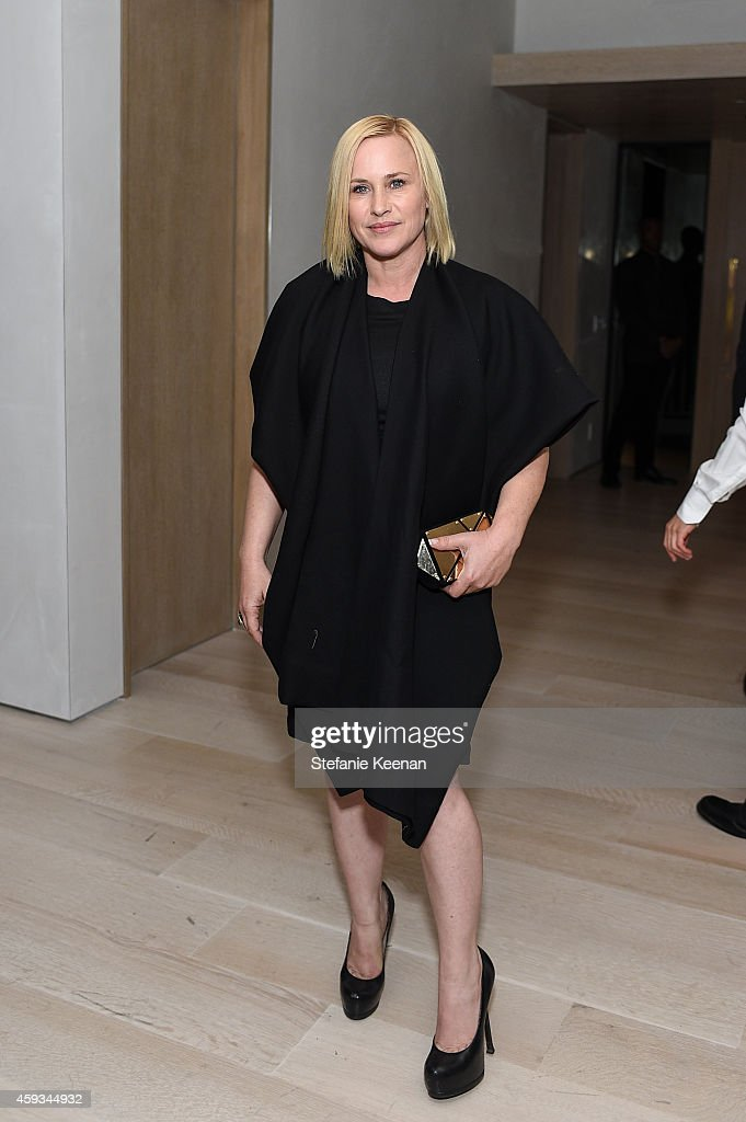 Patricia Arquette attends NET-A-PORTER Celebrates Rosetta Getty on November 20, 2014 in Los Angeles, California.