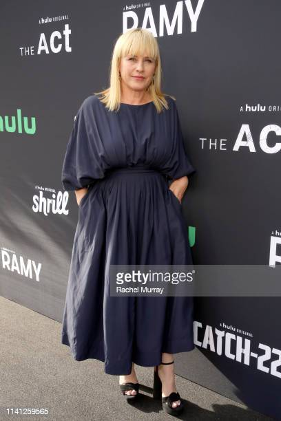Patricia Arquette attends the 2019 Deadline Contenders Hulu Reception at Paramount Theater on the Paramount Studios lot on April 07, 2019 in...