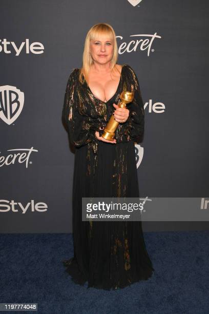 Patricia Arquette attends The 2020 InStyle And Warner Bros. 77th Annual Golden Globe Awards Post-Party at The Beverly Hilton Hotel on January 05,...