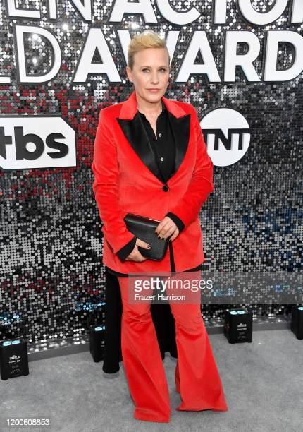 Patricia Arquette attends the 26th Annual Screen ActorsGuild Awards at The Shrine Auditorium on January 19 2020 in Los Angeles California