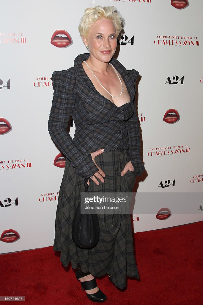 Patricia Arquette attends the 'A Glimpse Inside The Mind Of Charlie Swan III' Los Angeles premiere at ArcLight Hollywood on February 4, 2013 in Hollywood, California.
