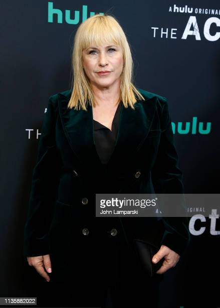 Patricia Arquette attends The Act New York Premiere at The Whitby Theater on March 14 2019 in New York City
