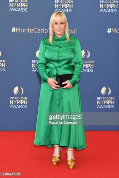 Patricia Arquette attends the closing ceremony of the 59th Monte Carlo TV Festival on June 18, 2019 in Monte-Carlo, Monaco.