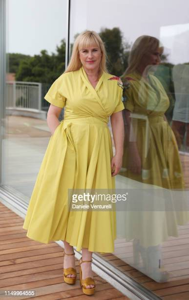 Patricia Arquette attends the Filming Italy Sardegna Festival 2019 Day 2 Photocall at Forte Village Resort on June 14 2019 in Cagliari Italy