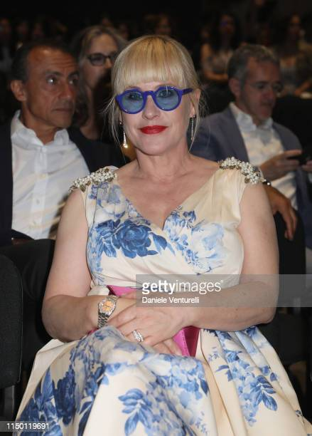 Patricia Arquette attends the Filming Italy Sardegna Festival 2019 Day 2 at Forte Village Resort on June 14 2019 in Cagliari Italy