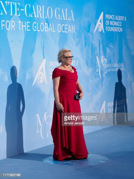 Patricia Arquette attends the Gala for the Global Ocean hosted by HSH Prince Albert II of Monaco at Opera of MonteCarlo on September 26 2019 in...