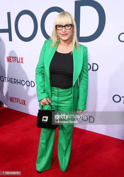 Patricia Arquette attends the Netflix Premiere of OTHERHOOD at the Egyptian Theater on July 31 2019 in Los Angeles California