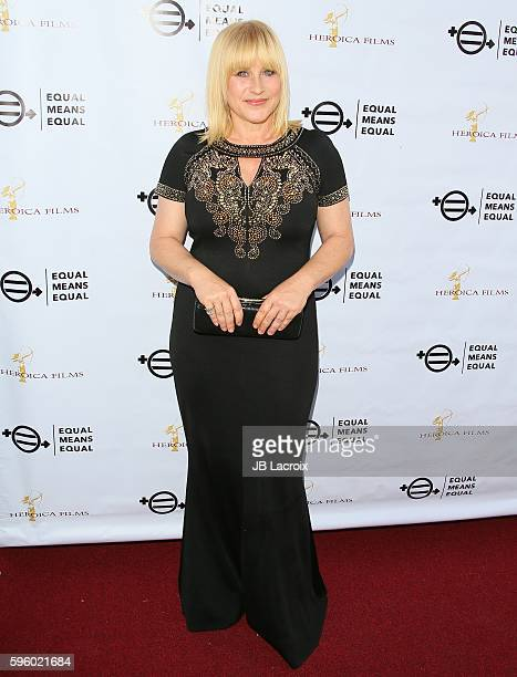 Patricia Arquette attends the screening of Heroica Films' 'Equal Means Equal' on August 26 2016 in Beverly Hills California
