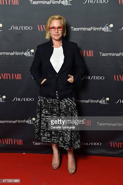Patricia Arquette attends the Shiseido And Vanity Fair Gala Dinner 61st Taormina Film Fest at Hotel San Domenico on June 17 2015 in Taormina Italy
