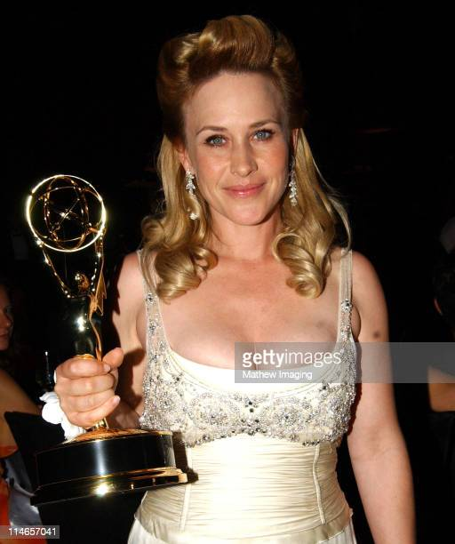 Patricia Arquette during 57th Annual Primetime Emmy Awards Governors Ball at The Shrine in Los Angeles California United States