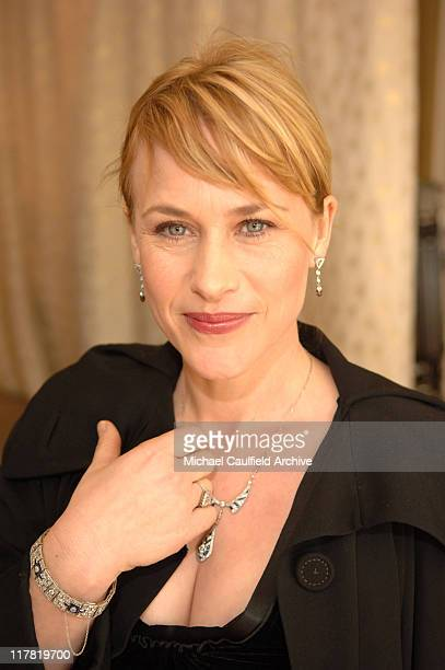 Patricia Arquette during Diamond Information Center and In Style Magazine Host The 5th Annual Awards Season Diamond Fashion Show Red Carpet and...
