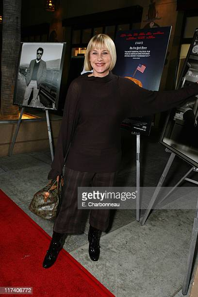 Patricia Arquette during Fox Searchlight Pictures Los Angeles Premiere of 'Fast Food Nation' at Egyptian Theater in Hollywood CA United States