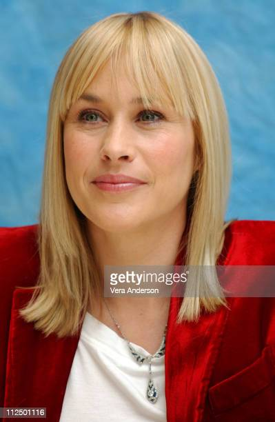 Patricia Arquette during 'Medium' Press Conference with Patricia Arquette at Four Seasons in Beverly Hills California United States